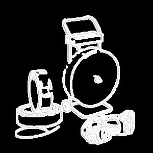 Kit tendireggia elettrico