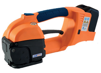 Reggiatrice a batteria GT ONE 10-16mm per reggia PET e PP con Batteria & Caricatore 2