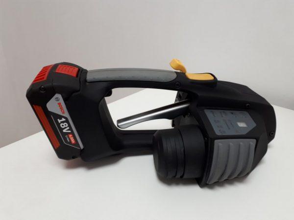 Messersi MB620 Reggiatrice a Batteria Manuale 12-16mm Reggiatrice a Batteria reggia per reggetta PET e PP con batteria e carica 3